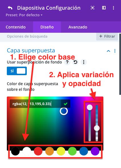 Como adicionar camadas de sobreposição e para que servem • Ajuda do WordPress 12