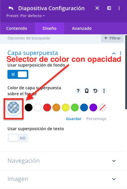 Como adicionar camadas de sobreposição e para que servem • Ajuda do WordPress 11