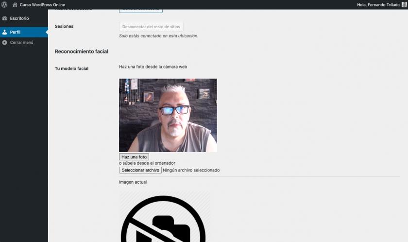 Reconhecimento facial para acessar o WordPress, você pode? • ajuda do WordPress 7