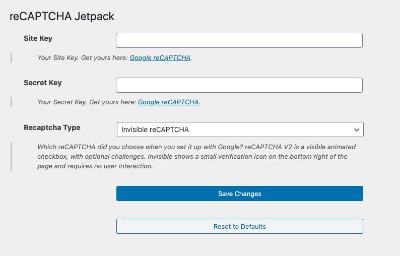 Como evitar spam nos formulários de contato do JetPack • Ajuda do WordPress 5