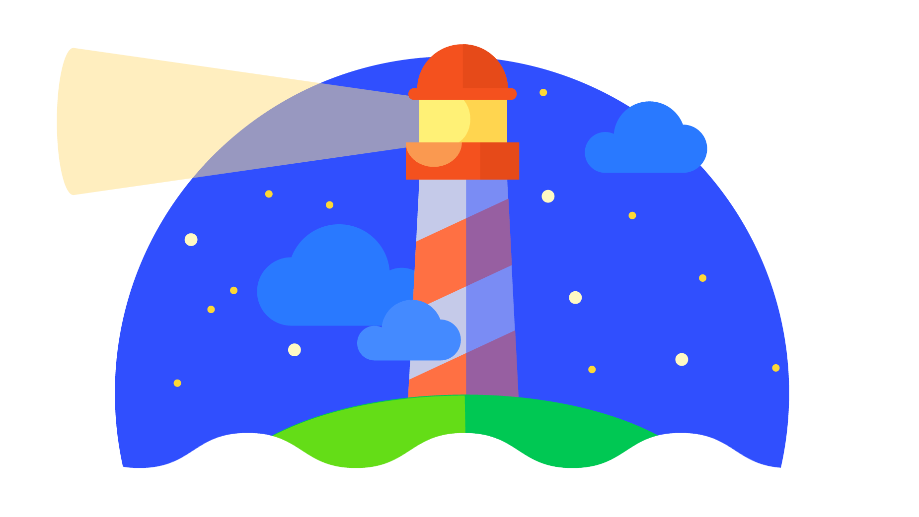 logotipo de lighthouse de Google