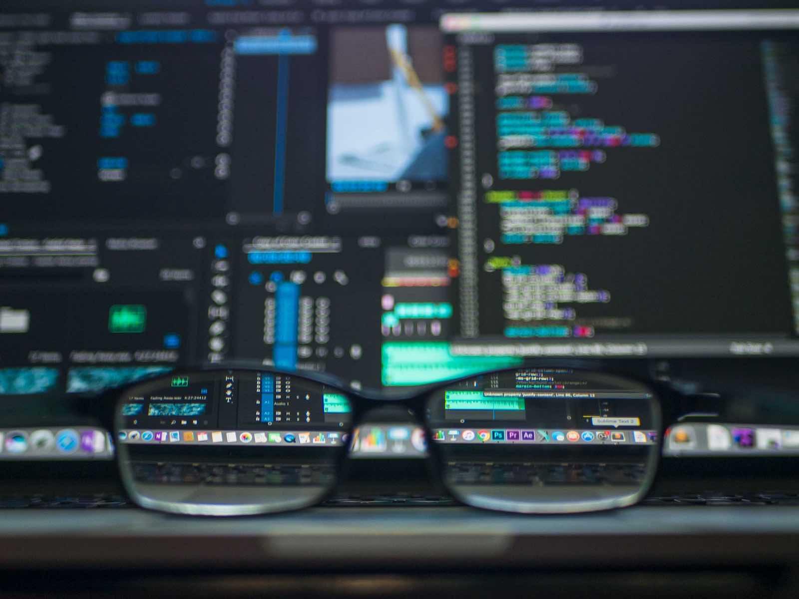 gafas frente a ordenador